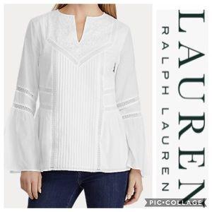 🥳🎉HP🎉🥳 Ralph Lauren PS white top